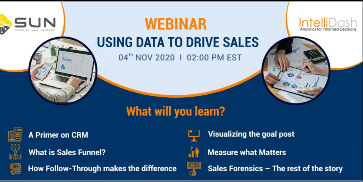 Using Data To Drive Sales